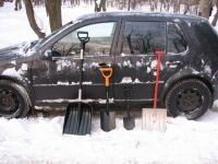 Нужна ли лопата в автомобиле?