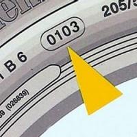 Возраст шины: читаем по резине