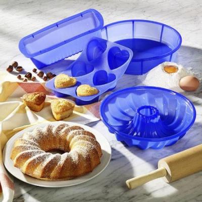 Силиконовая посуда для готовки