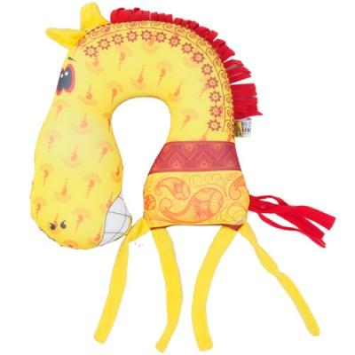 Подушки-подковы в виде лошадки. Порадуйте своего ребенка в новом году!