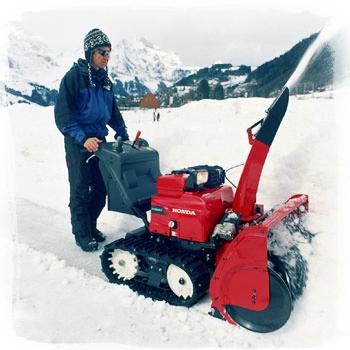 Ликвидация зимы: скидки на снегоуборщики