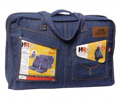 Чехлы SPIN PLUS: джинсовый автостиль