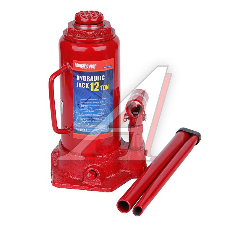 Домкрат гидравлический бутылочный с клапаном Megapower M-91204 - фото 10