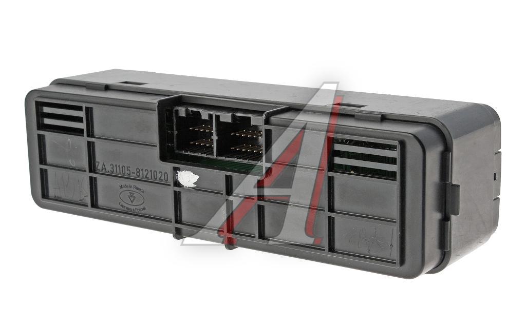 Блок управления отопителя газ 31105 схема.