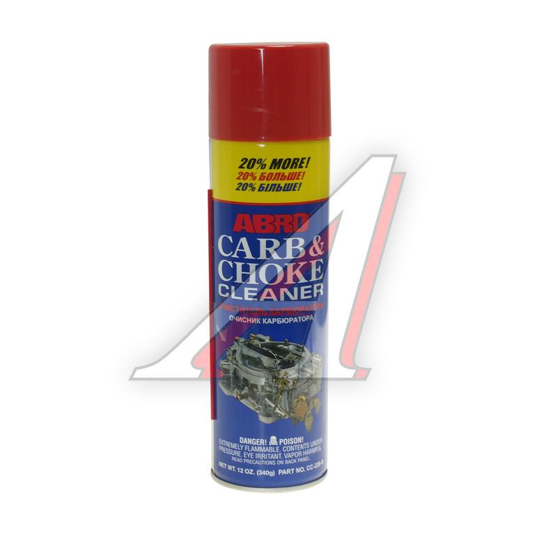 Очиститель карбюратора Abro CC220 340г - фото 3