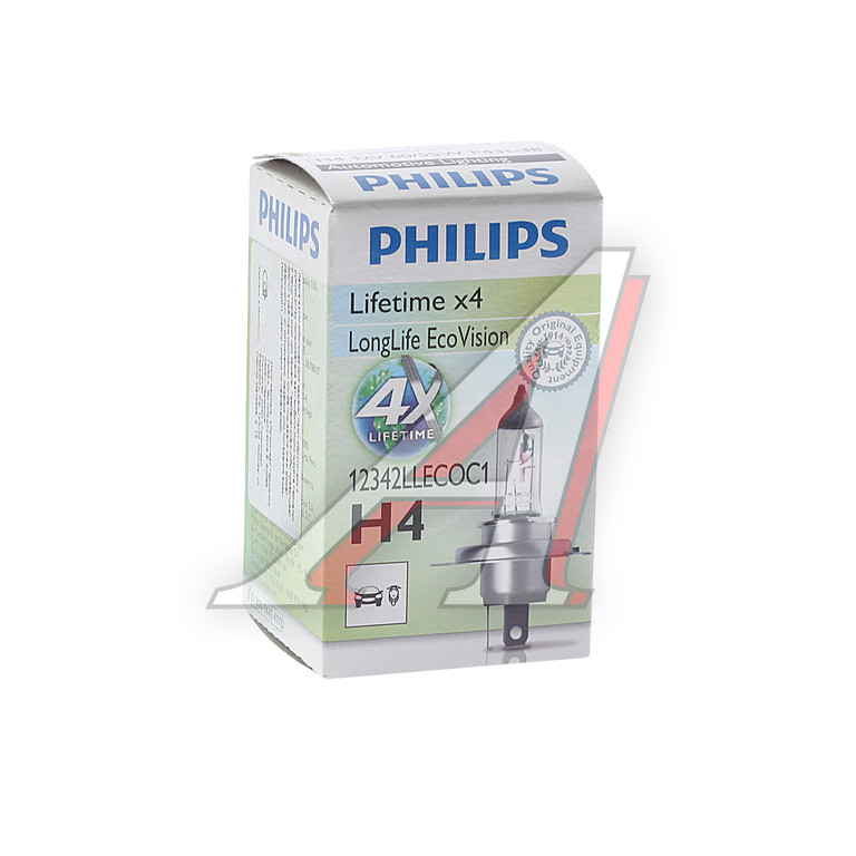 Лампа головного света Philips 12342llecoc1 Longlife Ecovision - фото 10