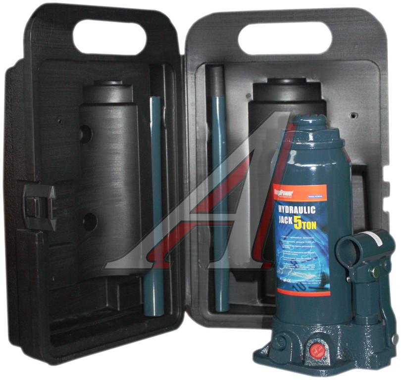 Домкрат гидравлический бутылочный с клапаном Megapower M-90504S - фото 8