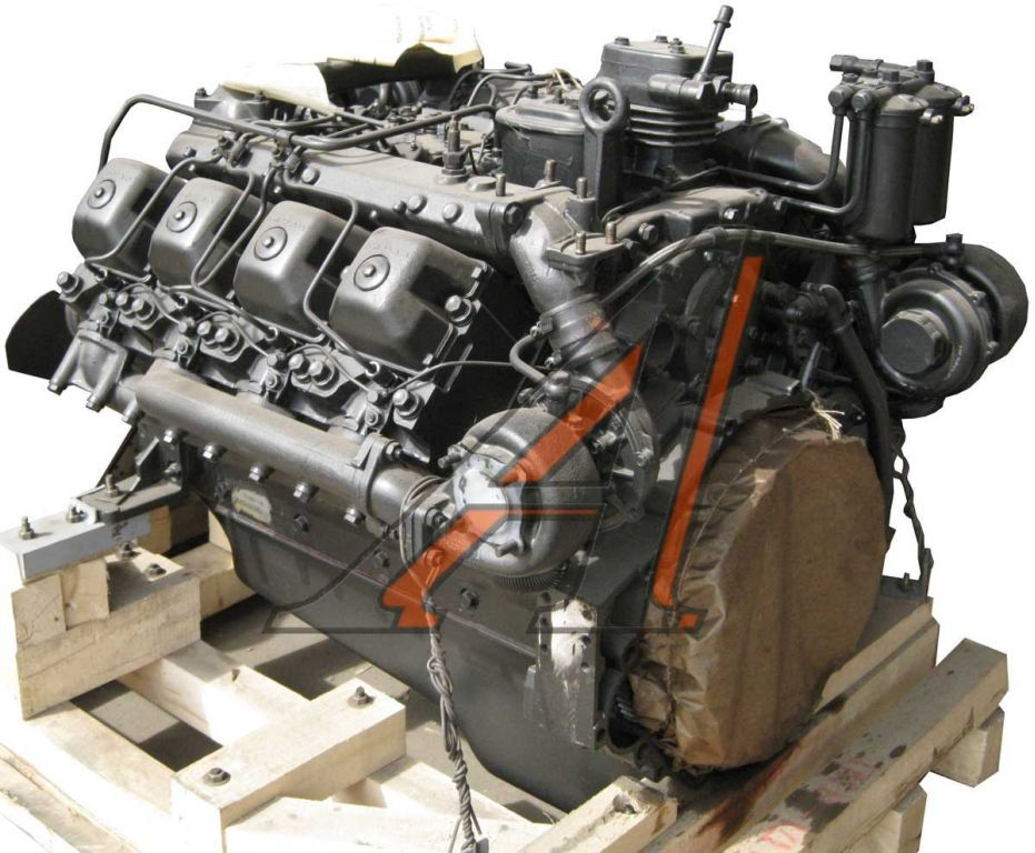 Двигатель камаз ЕВРО1 - 1.