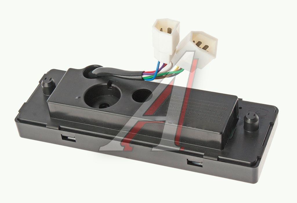 Электрическая схема блока управления отопителем газ 31105.