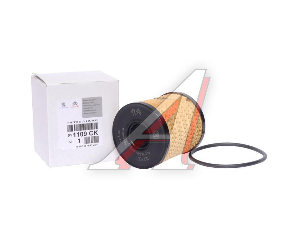 фильтр масляный двигателя, citroen/peugeot, 1109.ck,