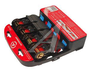 Стяжка крепления груза 0.7т 4.5м-25мм комплект 4шт. AUTOPROFI AUTOPROFI STR-700, STR-700