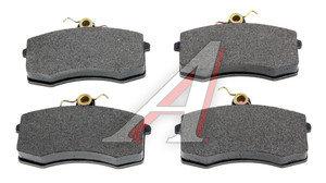 Колодки тормозные ВАЗ-2108 передние (4шт.) в упаковке АвтоВАЗ 2108-3501090M, 21080350180082, 2108-3501080