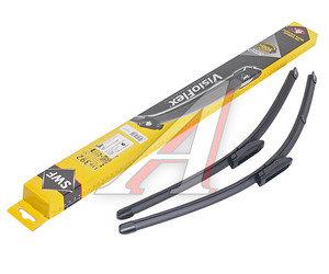 Щетка стеклоочистителя RENAULT Kangoo (07-) 580/530мм комплект Visioflex SWF 119392, 3397007424, 288909916R