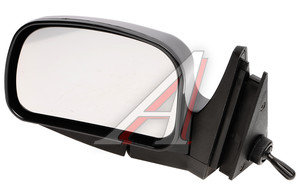 Зеркало боковое ВАЗ-2105 левое антиблик хром люкс Политех-Р-5рта/СПл, 2105-8201050
