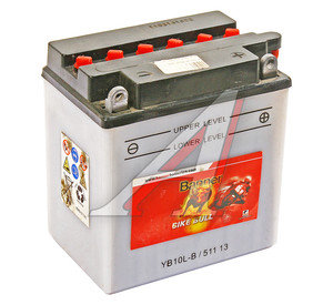Аккумулятор BANNER Bike Bull 11А/ч 6СТ11 YB10L-B 511 013 009