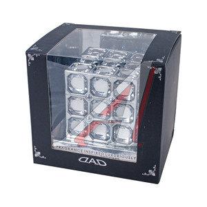 Ароматизатор на панель приборов жидкостный (океана бриз) фигура Куб D.A.D AH07BRZ