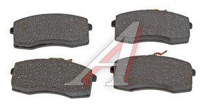 Колодки тормозные ВАЗ-1111 передние (4шт.) AD 1111-3501090, 1111-3501080
