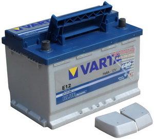 Аккумулятор VARTA Blue Dynamic 74А/ч 6СТ74 Е12, 574 013 068 313 2