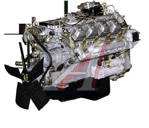 Двигатель КАМАЗ (240 л.с.) Евро 1 (ОАО КАМАЗ) № 740.11-1000400