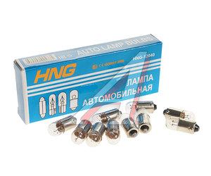 Лампа 12V T4W BA9s HNG А12-4-1, HNG-12040