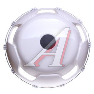 Колпак колеса R22.5 переднего пластик (белый) АВТОТОРГ АТ-9215