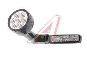 Фонарь-светильник аккумуляторный 7/12 светодиодов (пластик) встроенное з/у SLA 2х4V/400мAh JAZZ way Accu2-L07/L12, JAZZ way(Аккумуляторные),