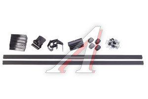 Багажник ВАЗ-2110-2112 L=1200 (гладкая крыша) прямоугольный пластик комплект МУРАВЕЙ МУРАВЕЙ L-1200-075-0, 694937,