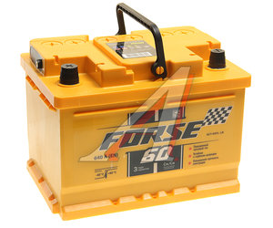 Аккумулятор FORSE 60А/ч 6СТ60, 82949