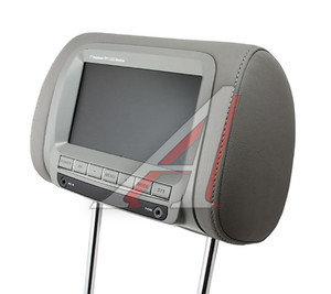 "Подголовник LCD 7"" AV-вход ДУ 12V /1/4 HP-7016GY(GREY), HP-7016GY"