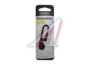 Брелок-инструмент карманный черный DoohicKey NITEIZE KMT-01-R3