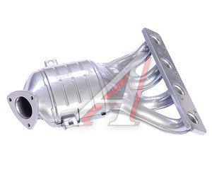 Труба приемная глушителя ВАЗ-2170 катколлектор (16кл.под 2 датчика кислорода) 11194-1203008-10, 11194120300810