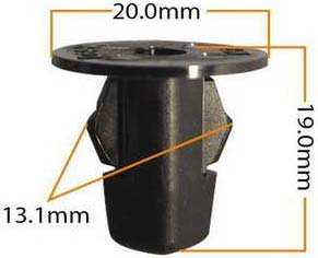 Пистон обивки универсальный KJ-401 MASUMA KJ-401