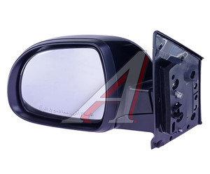 Зеркало боковое SSANGYONG Actyon (10-) левое (черное) (автоскладывание,обогрев) OE 7895034030LAK