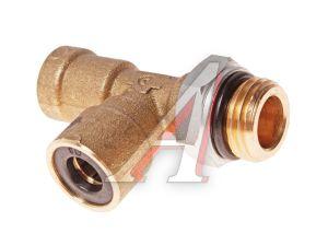Соединитель трубки ПВХ,полиамид d=8мм-8мм (наружная резьба) М16х1.5 тройник латунь CAMOZZI 9422 8-M16X1,5