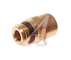 Соединитель трубки ПВХ,полиамид d=8мм (наружная резьба) М14х1.5 прямой латунь CAMOZZI 9512 8-M14X1.5