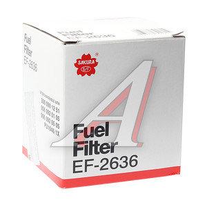 Фильтр топливный MERCEDES Atego,Axor SAKURA EF2636, KX672D,