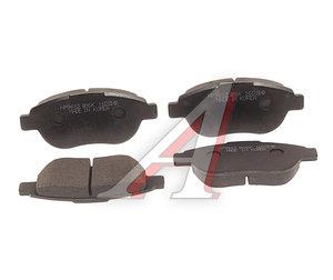 Колодки тормозные PEUGEOT 307 CITROEN Xsara (2.0 HDi) (02-) передние (4шт.) HSB HP9602, GDB1464, 425492