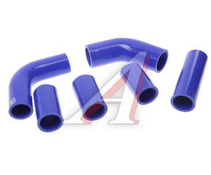 Патрубок ПАЗ-3205 радиатора комплект 6шт. синий силикон 3205-1303000