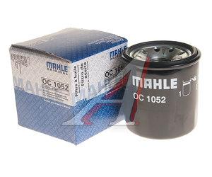 Фильтр масляный RENAULT Grand Scenic (09-) MAHLE OC1052, 152085758R