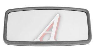 Зеркало боковое ЗИЛ-5301,ПАЗ основное сферическое с подогревом 405х205мм 12V КРУГОВОЙ ОБЗОР V8(ZL-019H) пласт.корпус, 204-01 пласт.корпус