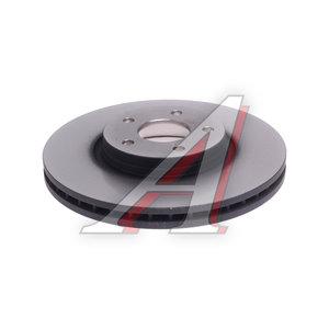 Диск тормозной FORD Mondeo (07-) передний (1шт.) TRW DF6019S, 1500159/1514427