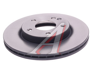 Диск тормозной MERCEDES A (W169) (04-12),B (W245) (05-11) передний вентилируемый TRW DF4393, 24.0122-0232.1, A1694210812