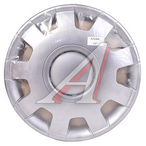 Колпак колеса R-15 декоративный серый комплект 4шт. АЛЬФА АЛЬФА R-15