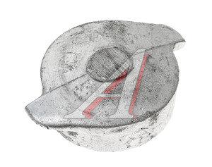 Пробка УРАЛ трубы наливной ПЖД в сборе, бака топливного дополнительного на 60л (ОАО АЗ УРАЛ) 4320-1015162