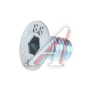 Винт М6х1.0х10 потай под шестигранник DIN7991