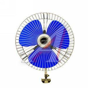 """Вентилятор в салон 24V 8"""" (с решеткой металл) 21см MEGA ELECTRIC TE-503-24"""