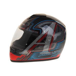 Шлем мото (интеграл) MICHIRU серый металл MI 136 L, 4650066000665