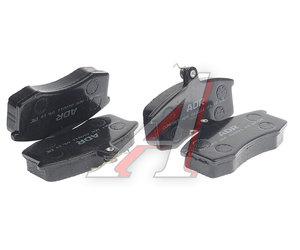 Колодки тормозные ВАЗ-2108 передние (4шт.) AD 2108-3501090, 2108-3501080