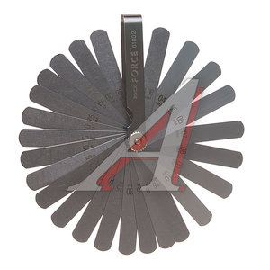 Набор щупов 0.04-0.63мм для установки зазора 26шт. ROCK FORCE RF-61802