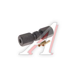 Ремкомплект трубки тормозной пластиковой d=4х1.0 (2гайки,2конуса,2втулки,1муфта) DIESEL TECHNIC 4.90433, 490433